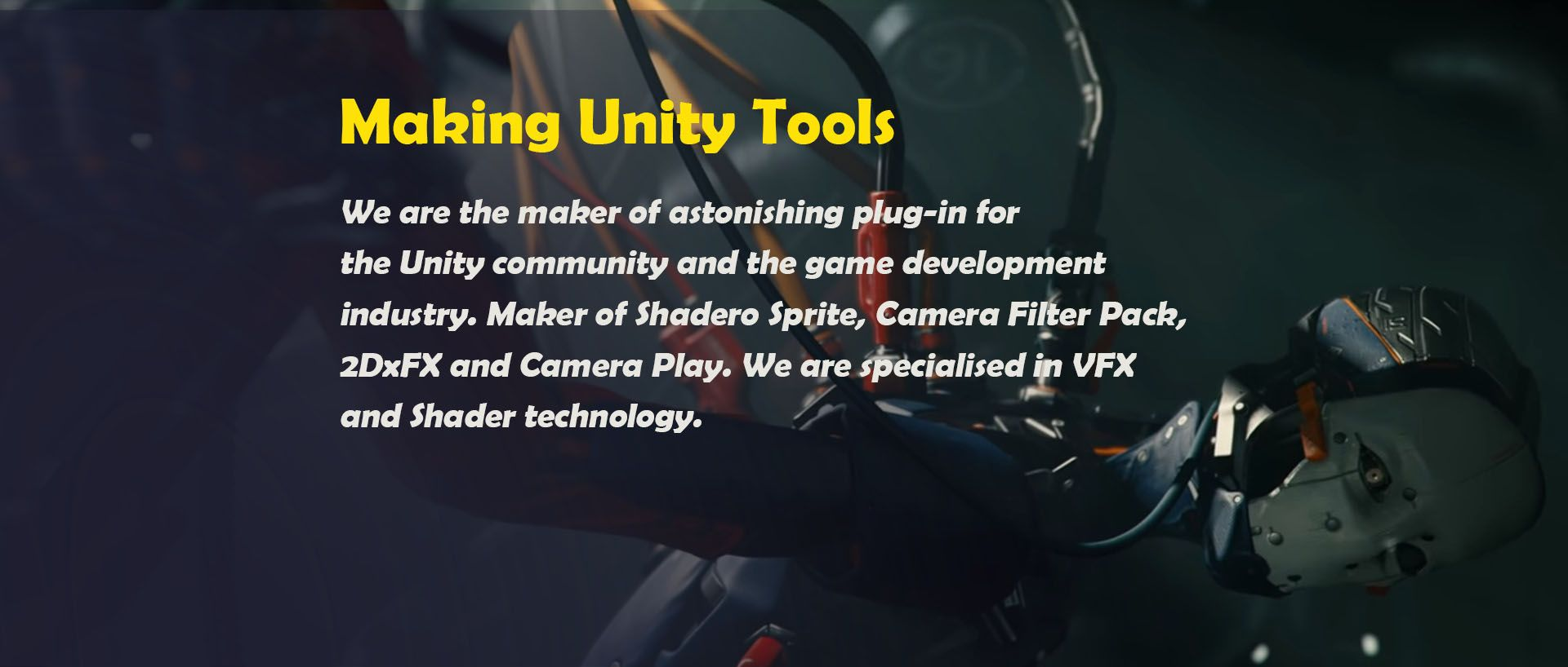 Making Unity Tools